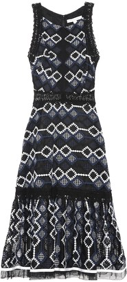 Jonathan Simkhai Embroidered midi dress