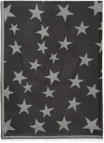 Stella McCartney Black Stars Scarf