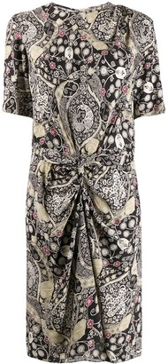 Etoile Isabel Marant paisley print ruched dress