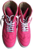 Maison Margiela Pink Leather Trainers