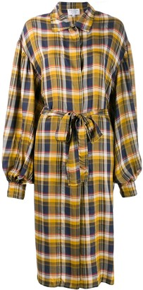 Collina Strada Plaid Shirt Jacket