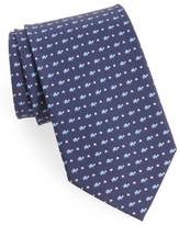 Salvatore Ferragamo Men's Print Silk Tie