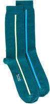 Paul Smith vertical stripe socks - men - Cotton/Nylon - One Size