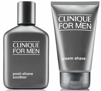Clinique Cream Shave and Post-Shave Soother (Bundle)