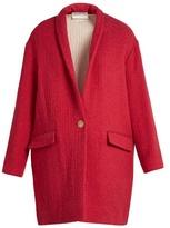 Etoile Isabel Marant Edilon herringbone coat
