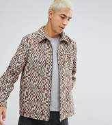 Reclaimed Vintage Inspired Coach Jacket In Check