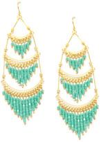 Ettika Tiered Dangle Earrings