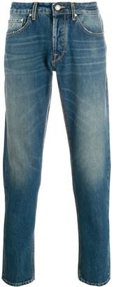 Jacob Cohen Slim-Fit Pocket-Square Jeans