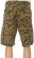 Camo Rothco The Vintage Paratrooper Cargo Shorts in Olive Digital