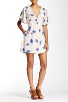 Free People Melanie Printed Mini Dress