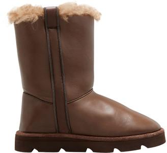 Brunello Cucinelli Napa Shearling Winter Boots