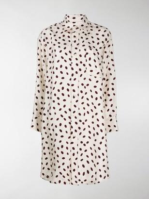 Marni Bubble Print Shirt Dress
