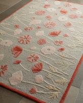 Martha Stewart Poppy Glossary Rug, 5' x 8'