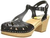 Swedish Hasbeens Women's Lacy Platform Sandal