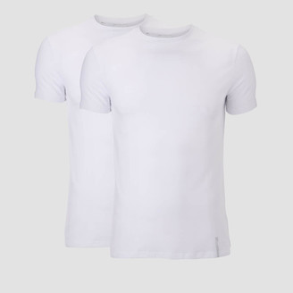 MP Men's Luxe Classic T-Shirt White/White (2 Pack)