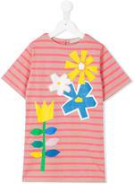 Stella McCartney floral print T-shirt dress - kids - Cotton/Polyester - 10 yrs