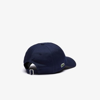 Lacoste Men's Multicolor-Logo Cotton Cap