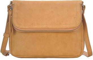 Antik Kraft Suede Messenger Bag