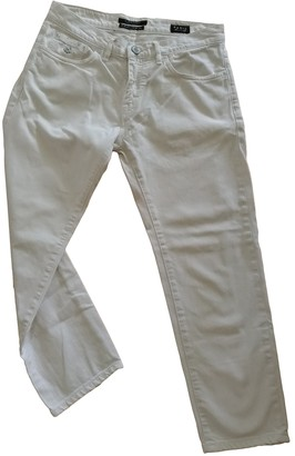 Maison Scotch White Cotton - elasthane Jeans for Women
