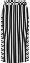 Tanya Taylor Camilla Stretch Jacquard-Knit Skirt
