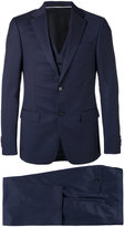 Z Zegna Three Piece Suit - men - Cupro/Wool - 50