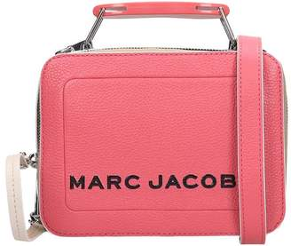 Marc Jacobs The Box 20 Hand Bag In Rose-pink Leather