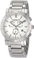 Stuhrling Original Men's Regent Swiss Chronograph Diamond Dial Watch 315G.33112