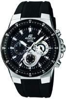 Edifice Casio Men's Analogue Quartz Watch with Resin Strap EF-552-1AVEF