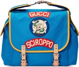 Gucci Children's canvas backpack with patches