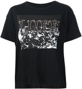 Sacai printed T-shirt - women - Cotton - 3