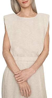 Thumbnail for your product : b new york Eco Eyelet Flutter Sleeve Top