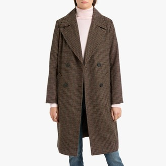Pepe Jeans Long Double-Breasted Coat
