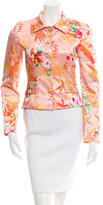 Dolce & Gabbana Floral Printed Blazer