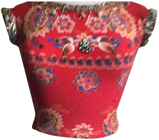 Blumarine Red Top for Women Vintage