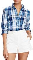 Polo Ralph Lauren Boy-Fit Cotton Madras Shirt