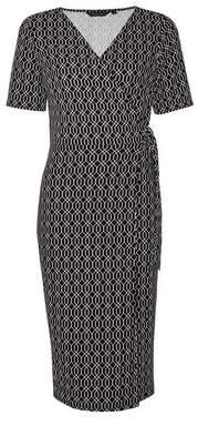 Dorothy Perkins Womens Black Short Sleeve D