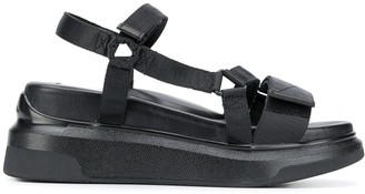 Suzanne Rae Chunky Sole Sandals