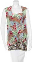 M Missoni Embellished Sleeveless Top