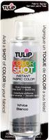 Tulip 3-Oz. White Fabric Color Spray