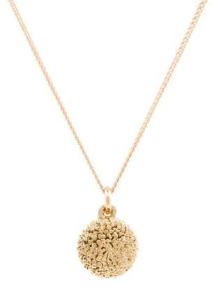 Lee Renee Dahlia Necklace Rose Gold
