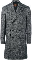 Tod's tweed double breasted coat