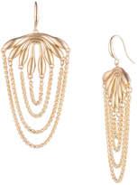 Trina Turk Retro Botanics Drape Chain Earring
