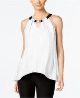 Thalia Sodi Sleeveless Handkerchief-Hem Top, Only at Macy's