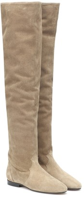 Isabel Marant Ranald knee-high suede boots