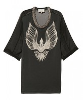 3.1 Phillip Lim Oversize T-shirt With Beaded Collar