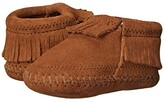 Minnetonka Kids Riley Bootie (Infant/Toddler) (Brown) Girls Shoes