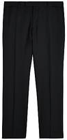 Jaeger Wool Regular Fit Suit Trousers, Black