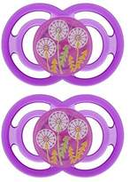 Mam Perfect Silicone Orthodontic Pacifier, 6+ Months, 2 Pack