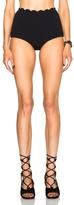 Marysia Swim Palm Springs Bikini Bottom in Black.