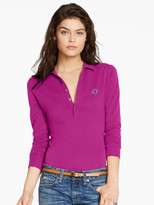 Personalization Long-Sleeve Stretch Polo